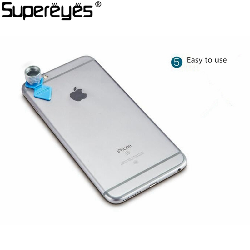 Supereyes Tablet Mini Size Focus Camera Lens 200X Microscope Magnifier for iPhone Android Phone Portable Magnifier Camera lens<br><br>Aliexpress