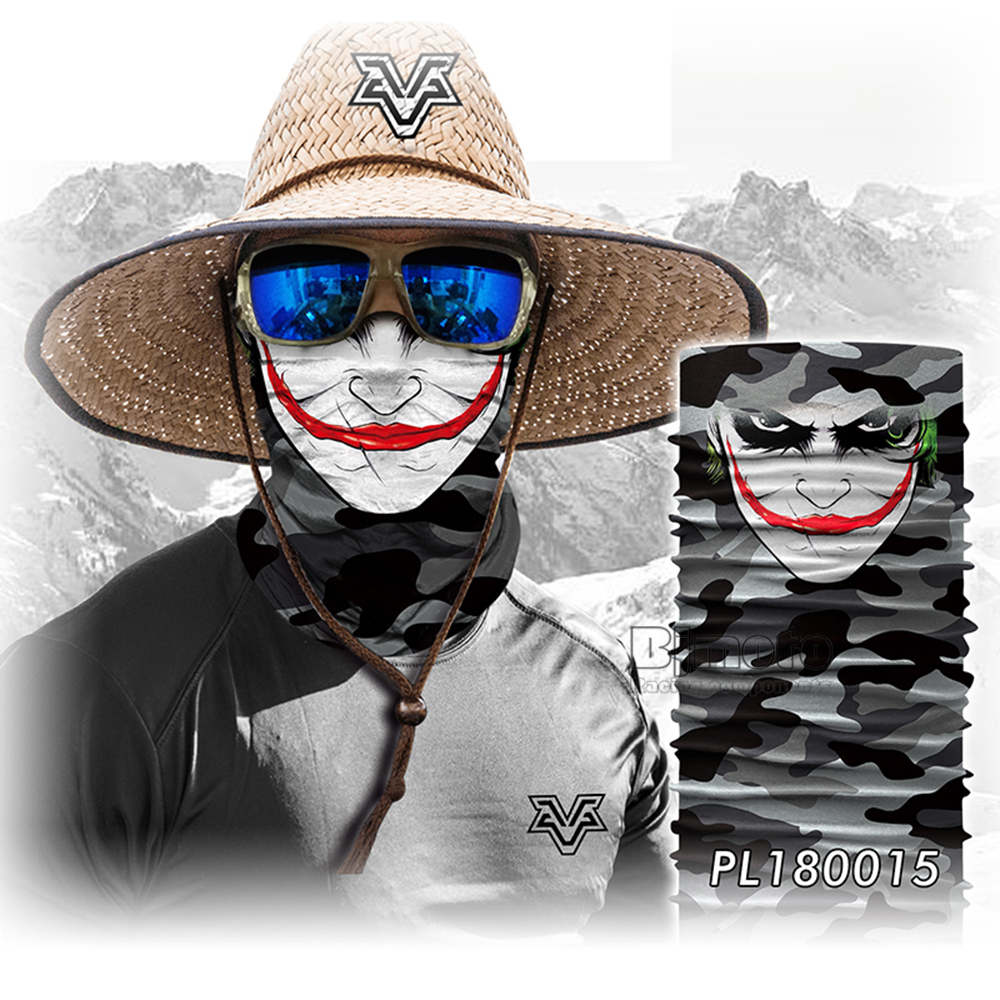 Winter 3D Skull Bandana Face Mask Scarf Bandanas Cycling Bandana Human Face Outdoors Scarves Seamless Skull Balaclava (7)