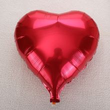 10pcs Love Heart Foil Helium Balloons Valentines Day Wedding Party Engagement Decor