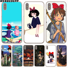 kiki's delivery service Hard Transparent Cover Case for iPhone 8 Plus 7 Plus 6 6s Plus X/10 5 5S SE 5C 4 4S