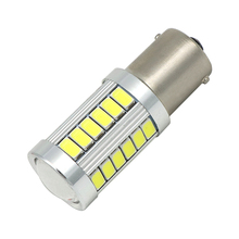 1156 P21W 7056 BA15S 33 smd 5630 5730 led Car Brake Lights fog bulb auto Reverse lamp Daytime Running Light red white yellow 12V(China)