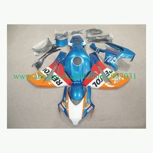 Free screws+gifts For Honda CBR 1000RR 2008 2009 2010 2011 CBR 1000 RR ABS Plastic motorcycle Fairing Kit Blue Orange REPSOL