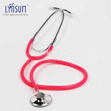 Pink Basic Functional Home Single Head Economical Stethoscope Cardiology Cute EMT Student Doctor Clinical Medical Stethoscope(China)