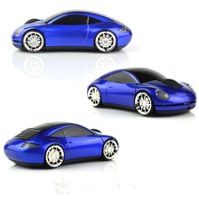 1600 DPI Wireless Car Optical Mouse Car Shape Wireless Mouse Cool Fashion Precision Mice For PC Laptop + USB receiver