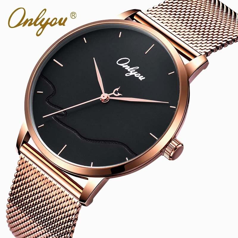 Men Watches Luxury Watch Men Ultra Thin Stainless Steel Mesh Band Quartz Wristwatch Fashion casual watches relogio masculino<br>