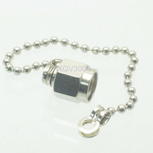 10pcs Connector dust cap with chain for SMA female jack