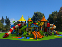castle series amusement outdoor/indoor playground equipment for park YLW-1743