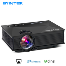 BYINTEK BT460 WIFI Home Theater Mobile HDMI USB LCD Pico Video Portable Mini Game LED Projector Proyector For Iphone Android(China)