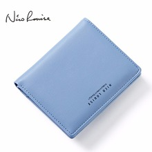 Women Lovely Leather Zipper Wallet Fashion Lady Portable Multifunction Small Solid Color Change Purse Hot Female Clutch Carteras(China)
