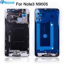 Netcosy Mid Middle Frame Housing Plate Bezel Cover Case For Samsung Galaxy Note 3 / note3 N9005 Replacement Parts Repair Part(China)