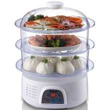 650W 8L large capacity Triple Electric Food Steamers