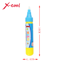 Drawing Pen / American Aqua Doodle Magic Pen / Water Drawing marker without cover cap / just add water Blue or red