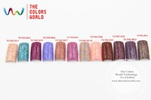 TCFM-03 12 Mixture of  neon candy colors glitter  melange sequins paillette for nail decoration and other art DIY decora