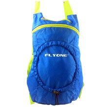 Extreme Nylon Blue Backpack Fold Bag For Travelling and Swiming