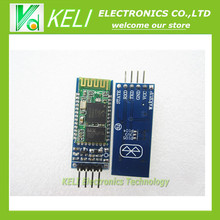 Free shipping  1PCS/LOT HC-06 Wireless Serial 4 Pin Bluetooth RF Transceiver Module RS232 TTL for TIEGOULI  + Drop Shipment