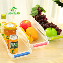 3Pcs/Set Kitchen Refrigerator Storage Basket Eggs Vegetable Organizer Fridge Shelf Holder Pull-Out Drawer Organizer Space Saver(China)