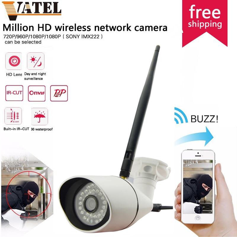 Mini Bullet HD IP Camera Wifi SONYIMX222 CCTV Camera Waterproof Night Vision Network P2P Security Camera System 720p/960p/1080P<br><br>Aliexpress