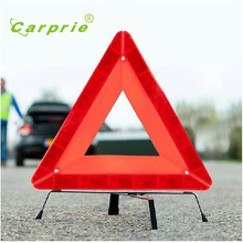 AUTO New Arrival Road Warning Triangle Folding Car Emergency Tripod Reflective Automobile Traffic Warning fold stop sign SE 30