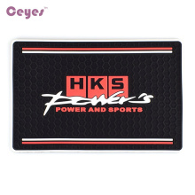 Auto Car-Stying Mat Interior Accessories Case For HKS Powers And Sports Mobile Phone Mp3 Mp4 GPS Pad Car Doll Car Sticker Stying(China)