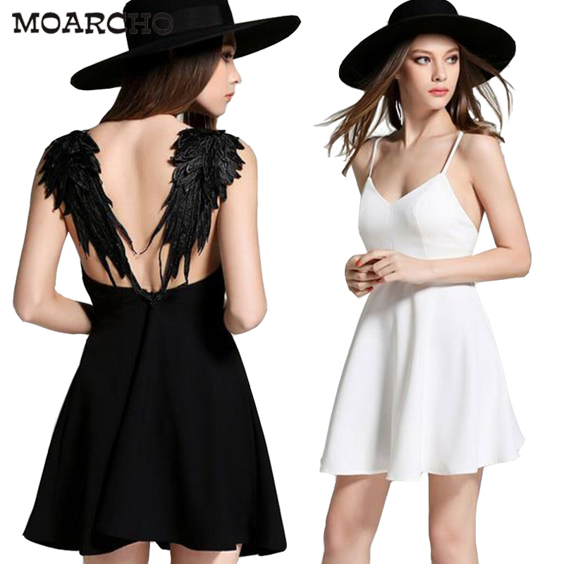 Платья летние с крыльями