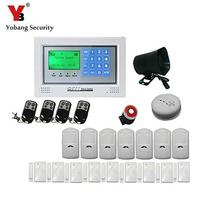 Yobang Security Yobang Security SECURITY WIRELESS SIM GSM HOME OFFICE INTRUDER GSM ALARM system(China)