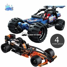 NEW Pull-back Vehicle Racing Car Decool Building Blocks Car Styling Model Building Kits Compatible with Legoe Technic Kids Toys