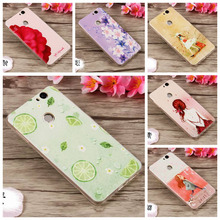 For Huawei Nova 5.0 Case Cute 3D Relief Print Daisy Flower Cat Girl Soft Silicone Back Cover Telefon For Funda Huawei Nova nf306