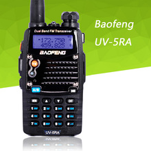 Walkie Talkie Baofeng UV-5RA portable radio UV5RA 136-174 MHz & 400-520 MHz transceiver, for ham,hotel,commercial,security use(China)