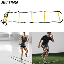 JETTING Outdoor Speed Reaction 6-Rung new Soccer Agility Train Ladder Durable Football Soccer Fitness Feet Training Ladder