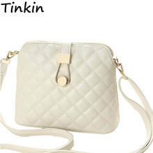 Tinkin Small Autumn Shell Bag Fashion Embroidery Shoulder Bag Women Messenger Bag Hot Sale Female Crossbody Bags(China)