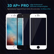 Nillkin AP+Pro Anti-Explosion 9H 3D Full Cover Tempered Glass For iPhone 6S plus Screen Protector for iPhone 6 Plus Glass film