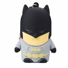 Batman Led Light Key Chain W/Sound Toys Idea Gifts For Friends Families