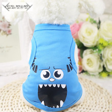 Free shipping Sports Dog Clothes Costume Chihuahua Pet Clothing Cartoon Pet Cat Animals Dog Coat 11 style