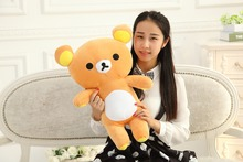 about 65 cm relax bear plush toy Rilakkuma bear doll,gift b0069(China)