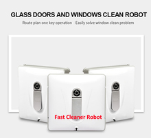 Newest Remote control Wet and Dry Magnetic Glass Cleaner Robot, double faced glass cleaner, window cleaning robot(China)