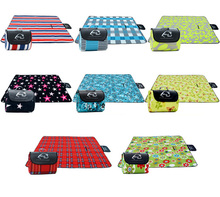 2016 Camping Hiking Beach Thicken Large Waterproof Outdoor Mats 200x150cm Picnic Mats(China)