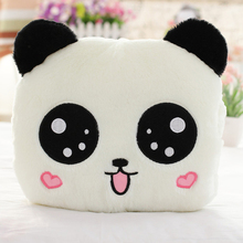 35cm Giant Panda Pillow Mini Plush Toys Stuffed Animal Doll Bolster Kids Birthday Valentine's Day Lover Gift(China)