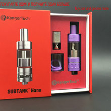 buy one VAPE TANK and get one free Kanger Subtank Nano Atomizer OCC Coil 3.0ml Airfilow System  for electronic cigarettes