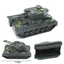 Hot Sale!!!Mini Tank Model Action Military Toy Cars World War II German Military Scene Ornaments World of Tanks For kids Gifts