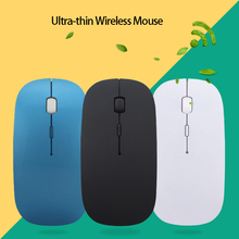 hot sale 1600 DPI Adjustable USB Wireless Mouse Ultra thin Computer Mouse for Computer Laptop Notebook Home Office Use