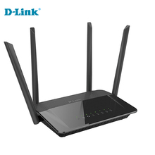 Discounts D-LINK DIR-822 wifi household wall support optical fiber home ROUTER English 2.4G/5Ghz 1200Mbs gigabit wireless router(China)