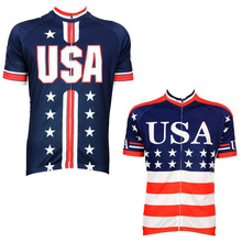 2017 hot design USA running biking jersey bottom price ropa ciclismo maillot cycling wear outdoor sport bicycle apparel(China)