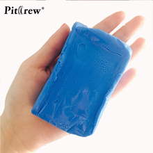 (1pieces) Car washer Blue Car Clay Bar 180g Auto Detailing Magic Claybar Cleaner Car Accessiores Sponges(China)