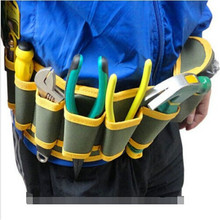 Bolsa New Arrival Summer Style Oxford Tool Bag Electrician Fashion Multi-Pocket Tool Belt Bags 54*13cm Electrician Tool(China)