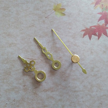 Wholesale 50PCS Metal Gold Short Clock Hands Fast Shipping