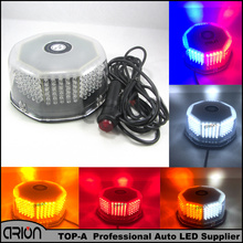 White Red Blue Amber flash light 240 LED Roof Car Boat Truck Warning Emergency Strobe Lights Free Shopping(China)