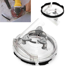 5''/125mm Convertible Clear Dust Shroud Grinding Cover Dry Grinding for Angle Hand Grinder Power Tool Accessories