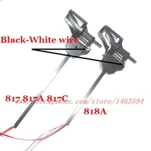 Wholesale UDI U818 U817A U818A  RC Quadricopter Spare Parts  Carbon tube motor set (black white wire ) Free Shipping