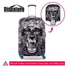 Dispalang customized 18-30 inch suitcase protective dust cover waterproof travel accessories stretchable luggage protectors(China)