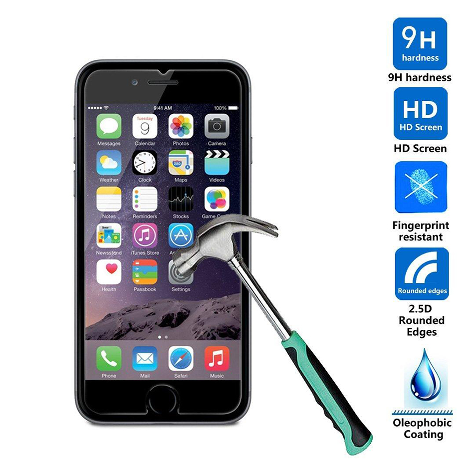 9H tempered glass For font b iphone b font 4s 5 5s 5c SE 6 font